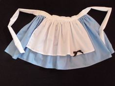 TREE SKIRT alice in wonderland apron by josettesaprons on Etsy, $15.00 - THE MOST PERFECT COOKING/BAKING APRON