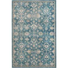 Safavieh Sofia Vintage Blue/ Beige Rug (6'7 x 9'2)