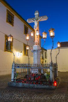 Imagen del Cristo de los faroles. Cordoba  Spain Onofre García - Reportajes