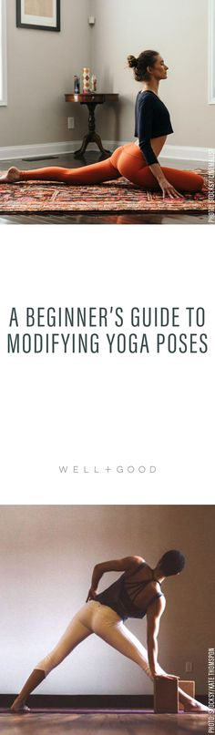 How to Modify Yoga Poses