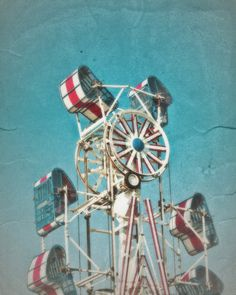 Zipper Carnival Ride They actually had to stop this ride and let me off, I was hysterical! Never attempted it again!
