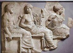 Comentario de Arte Resuelto para Selectividad. Friso de las Panateneas, atribuido a Fidias y su taller, que pertenece al periodo del Alto Clasicismo