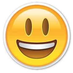 Smiling Face with Open Mouth | EmojiStickers.com