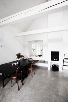 Steal This Look: Minimalist Loft in Sweden, with Touches of Exotica : Remodelista