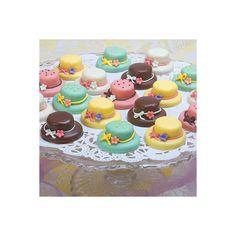 Petits Fours Tea Cakes Tea Cookies High Tea Afternoon Tea Menu (60 AUD) found on Polyvore
