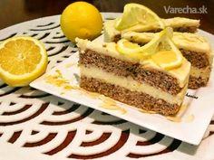 Rezy s citrónovou plnkou lemon curd (fotorecept) - Recept Lemon Curd, Cheesecake, Desserts, Food, Hampers, Lemon, Lemon Custard, Meal, Lemon Cream
