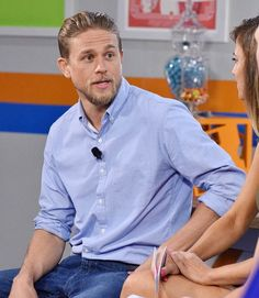 VJBrendan.com: Charlie Hunnam Promoting 'King Arthur: Legend Of The Sword' at Comic-Con