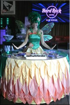 Fairy themed Strolling Table