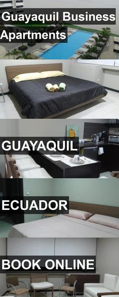 Guayaquil Business Apartments in Guayaquil, Ecuador. For more information, photos, reviews and best prices please follow the link. #Ecuador #Guayaquil #travel #vacation #apartment