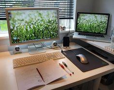 John's Devilishly Charming Desk DeskTops - The Best of Office Desks | Apartment Therapy