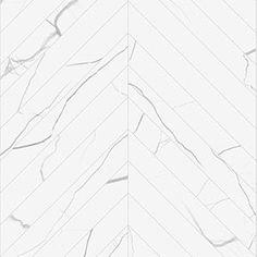Chevron | 3x24 inch | Contemporary Hexagon Floor TIle | Marmo Bianco
