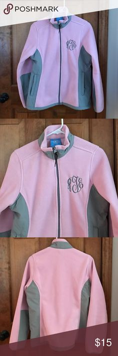 Charles River Apparel Fleece Like new worn once. Monogrammed initials RTE, but likely could be changed with new initials. Charles River Apparel Jackets & Coats