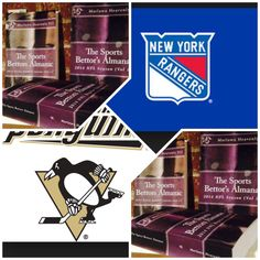 """4/22/15 NHL Playoffs: #NewYork #Rangers vs #Pittsburgh #Penguins (Take: Pittsburgh +104,Over 5 Goals) (THIS IS NOT A SPECIAL PICK ) """"The Sports Bettors Almanac"""" SPORTS BETTING ADVICE  On  95% of regular season games ATS including Over/Under   1.) """"The Sports Bettors Almanac"""" available at www.Amazon.com  2.) Check for updates   Marlawn Heavenly VII ( SportyNerd@ymail.com )  #NFL #MLB #NHL #NBA #NCAAB #NCAAF #LasVegas #Football #Basketball #Baseball #Hockey #SBA #Boxing #Business #Entrepreneur…"""