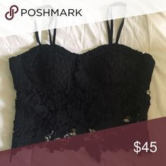NWOT LF Stores bustier Never worn, no trades. Cheaper on Mercari LF Tops