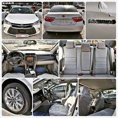 #Toyota #Camry #Hybrid #XLE #2016MY #CanadianSpecs #WhiteExterior #BeigeInterior