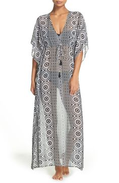 Just added this to my closet: Tommy Bahaha Geo Relief Cover-Up Tunic available at #Nordstrom