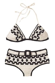 Hourglass Anna Kosturova Crocheted Bikini, $165; annakosturova.com