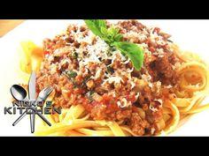 Fettuccine Bolognese - Nicko's Kitchen