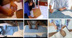 CURSO DE COSTURA - CORTE Y CONFECCIÓN, TRAZAR SOBRE TELA Y CORTAR ESPALDA, BÁSICO PRINCIPIANTES (CON VÍDEO PASO A PASO) Margarita, Playing Cards, Tela, Vestidos, Sewing Blogs, Hand Stitching, Sewing Lessons, How To Sew, Sewing Patterns
