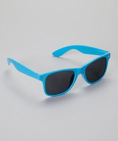 Look what I found on #zulily! Neon Blue Classic Sunglasses by Eye Design #zulilyfinds