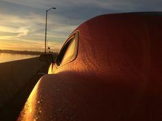 Camaro at sunrise