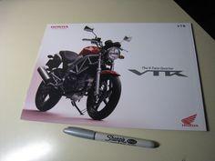Honda VTR Japanese Brochure 2009/04 JBK-MC33 VTR250