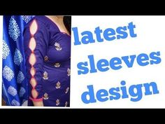 new and easy bridal sleeves designe cutting and stitching - YouTube