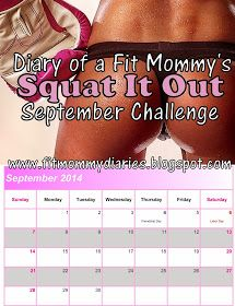 Diary of a Fit Mommy: Squat It Out September Challenge Best squat challenge I've found Fitness Motivation, Fitness Diet, Health Fitness, Fitness Fun, Mommy Workout, Butt Workout, Workout Diary, September Challenge, Monthly Challenge