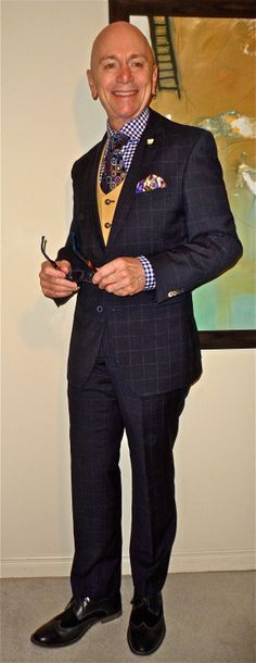 Van Gils suit, Circle Of Gentlemen vest & shirt, Ted Baker tie, Stacy Adams suede & leather derbies… #VanGils #CircleOfGentlemen #TedBaker #StacyAdams #vintage #mensfashion #fashion #dandy #dapper #sartorial #sprezzatura #menshoes #mensboots
