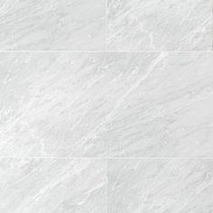 Nissi Azul Polished Porcelain Tile - 18 x 36 - 100340959 - Top Trends Marble Look Tile, Stone Look Tile, Painting Tile Floors, Polished Porcelain Tiles, Grey Tiles, Tiles Texture, Commercial Flooring, Decorative Tile, Floor Decor