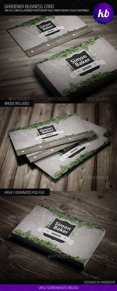 Gardener Business Card - Creative Business Cards
