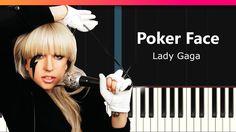 Lady gaga poker face chords piano