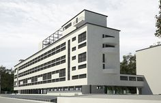 Communal House of the Textile Institute, Moscow, Russia, 1929-31, by Ivan Nikolaev (1901 – 1979). (This project had a major influence on Le Corbusier's Unité d'Habitation.)