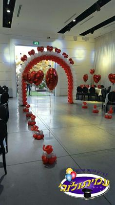 wedding decor by Heavenly Engagements - Salvabrani Dance Decorations, Quinceanera Decorations, Balloon Decorations Party, Wedding Decorations, Valentines Balloons, Valentines Day Party, Valentines Day Decorations, Birthday Decorations, Wedding Balloons