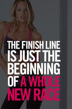 The finish line is just the beginning of a whole new race. #ownit #trainlikeanangel