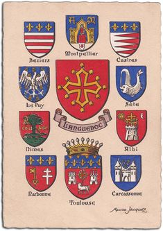 Boulevard Des Capucines, Medieval Shields, Rome Antique, Military Orders, Chivalry, Crests, Coat Of Arms, Porsche Logo, Middle Ages