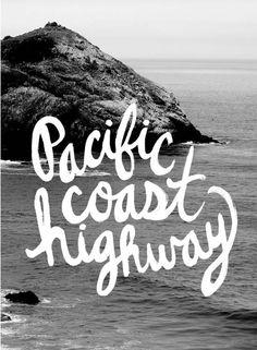 drive down pch to point dume beach in malibu