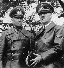 Hitler e o marechal-de-campo Walther von Brauchitsch em 1939.
