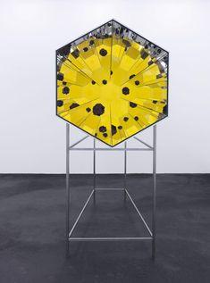 Official website of Olafur Eliasson and his studio: Lava kaleidoscope Geometric Sculpture, Sculpture Art, Sculptures, Studio Olafur Eliasson, Optical Illusions, Graphic, Colored Glass, Installation Art, Lava