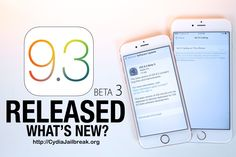 Apple released iOS 9.3 beta 3 for iPhone, iPad and iPod touch - Cydia Jailbreak