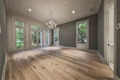 820 Eagle Pointe Montgomery, TX 77316: Photo Elegant, secluded first floor master suite with high ceilings, lots of windows, chandelier and beautiful oak floors.