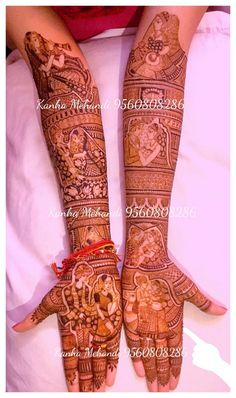 Mehndi Designs Bridal Hands, Wedding Henna Designs, Mehndi Designs For Fingers, Dulhan Mehndi Designs, Mehndi Art Designs, Mehndi Images, Latest Mehndi Designs, Henna Mehndi, Henna Art