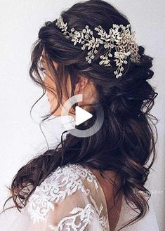Finding just the right wedding hair for your wedding day is no small task but we're about to make things a little bit easier.From... Easy Hairstyles For Long Hair, Wedding Hairstyles, Elegant Wedding Hair, Wedding Day, Wedding Hair Inspiration, Reception, Hair Cuts, Long Hair Styles, Image