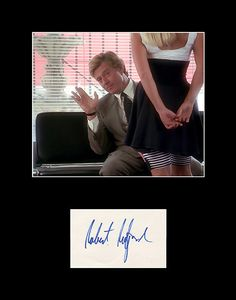 Rare Collectible framed Matted Hollywood Legend Robert Redford Signed Autograph and Photo 1/1 Comes with certificate of authenticity. Besides being one of the most popular actors of all time, Redford