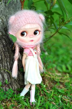 Meet the New Girl! *Cherry Button** by ♥ Elly Jelly ♥, via Flickr