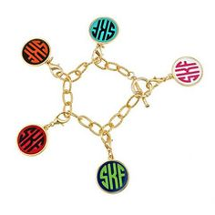 Coming soon to Marker 29 Design  Monogram Bracelet