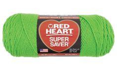 Spring Green Super Saver Economy Yarn   Red Heart