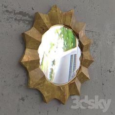 mirror SUN 3d Mirror, Sun, Models, Home Decor, Templates, Decoration Home, Room Decor, Home Interior Design