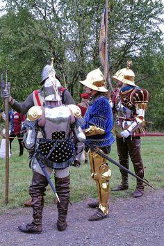 medieval golden armor???