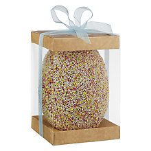Buy The Cocoabean Company All Over Sprinkle Easter Egg Online at johnlewis.com